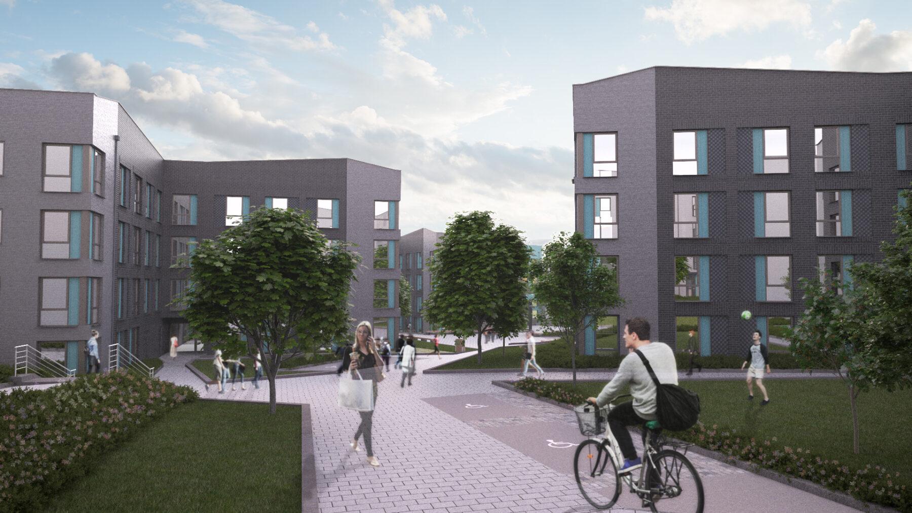Mount Oswald New Residences - Durham University - Equitix - CLV - Interserve