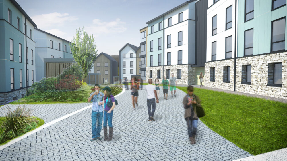 Falmouth University Penryn Campus - Midas - Equitix